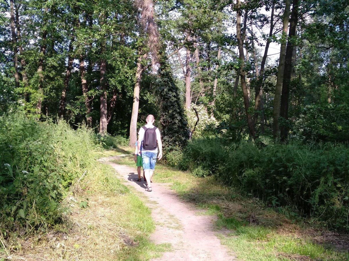 Ścieżka spacerowa przy rzece