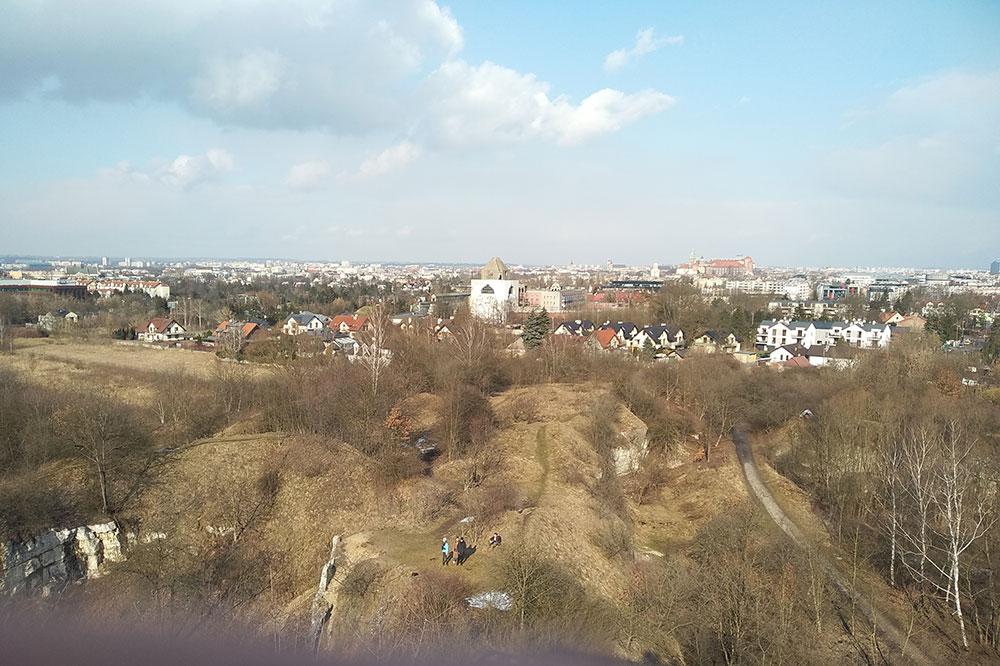 Panorama Krakowa z Zakrzówka