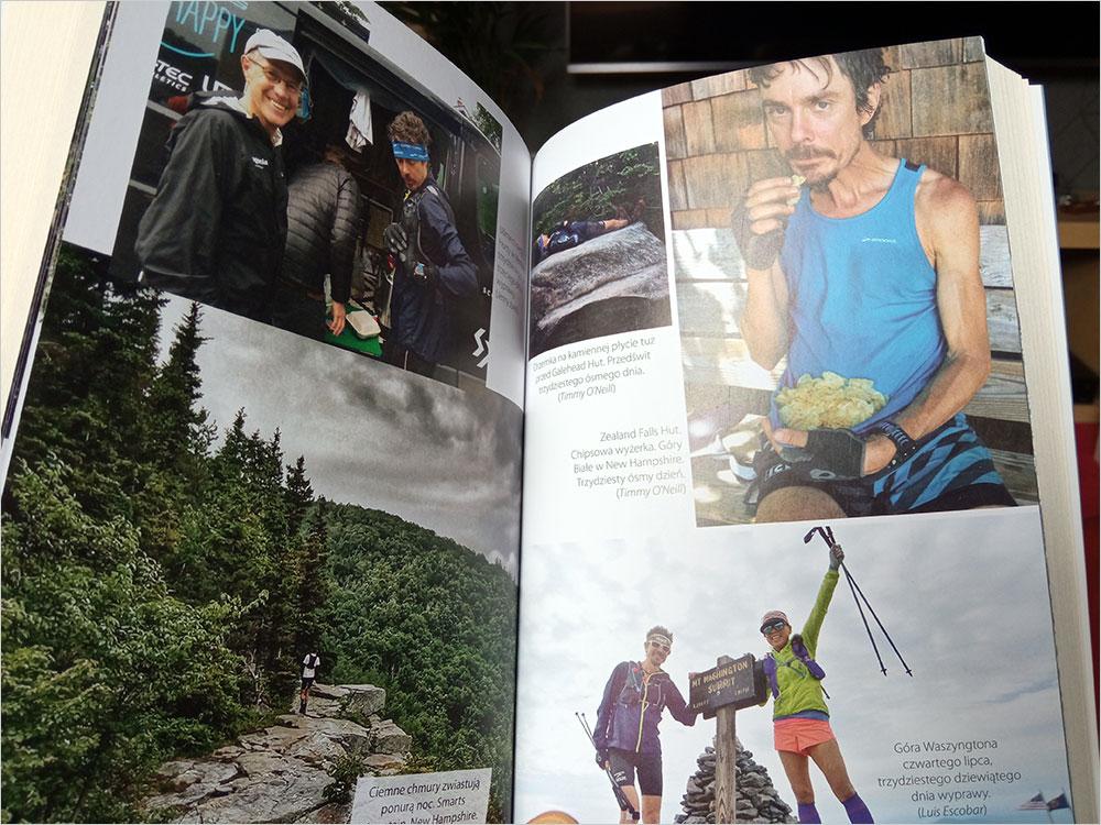 Scott Jurek w USA na Szlaku Appalachów