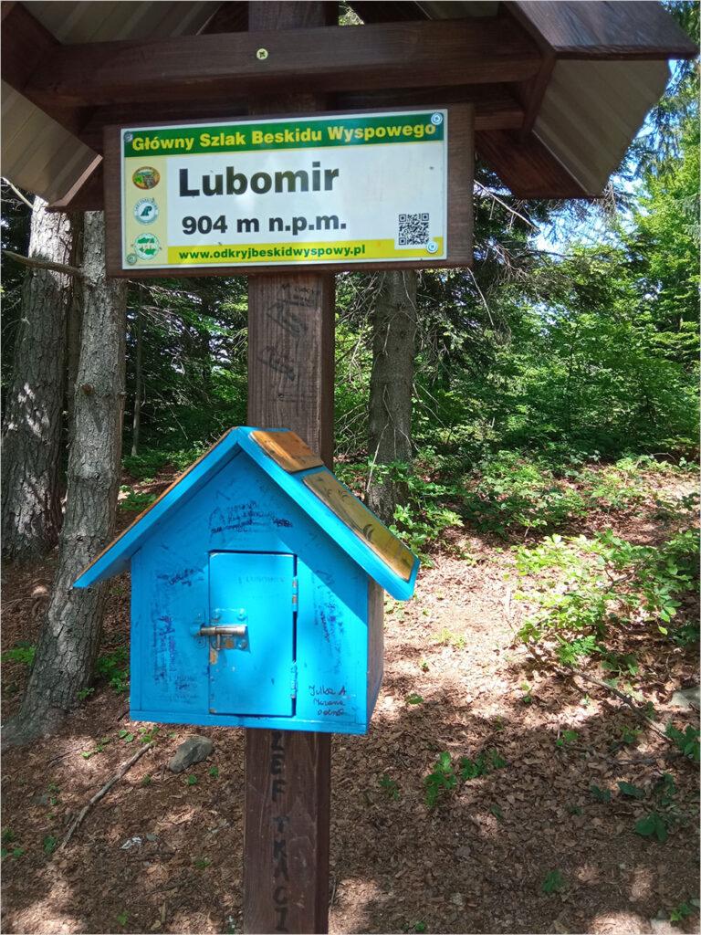 Szczyt Lubomir 904 m npm